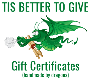 Buy Gift Certificates - Great Stocking Stuffers